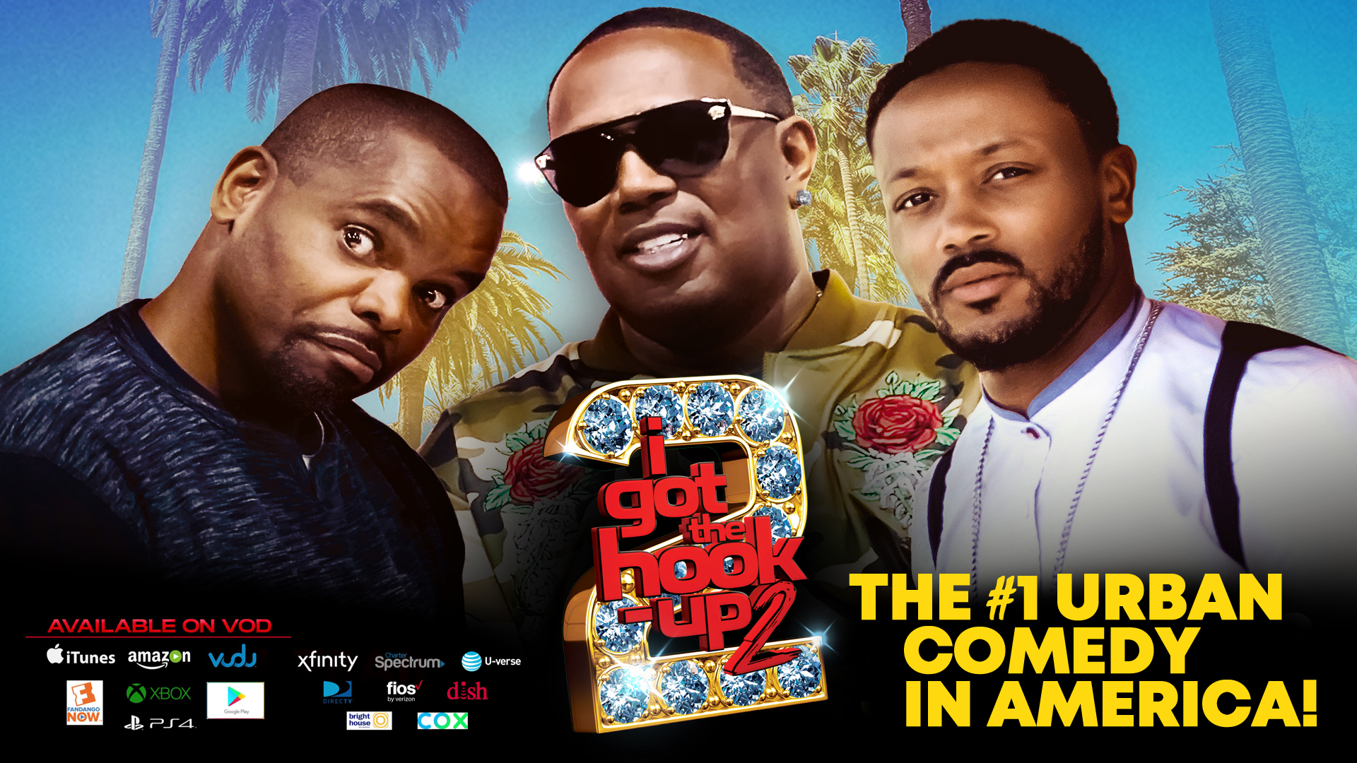 I Got The Hook Up 2 – The New Bad Boys of Comedy! Master P, Fatboy